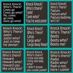 Knock Knock jokes fun when you're young. - Jokes - Funny memes - - Knock Knock jokes fun when you're young. The post Knock Knock jokes fun when you're young. appeared first on Gag Dad. Funny Jokes For Kids, Corny Jokes, Funny Jokes To Tell, Dad Jokes, Funny Texts, Mom Funny, Funny Family, Funny School, Clean Jokes For Kids