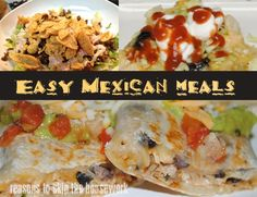 Easy Mexican Meals    #mexican #recipes