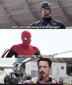 And at that moment, tony knew, peter was his son