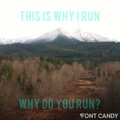Why do you run? Pin why you run and share with me!