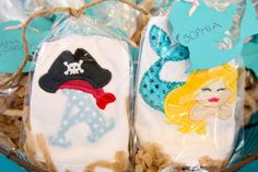 Neverland Inspired Mermaid/Pirate | CatchMyParty.com