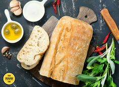 Ciabatta (Fresh Italian Bread) – Traditional Recipe - Your Food Tube