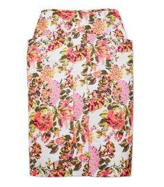 Stella McCartney Floral Jacquard Skirt