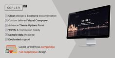 Kepler - Responsive Business WordPress Theme - Business Corporate