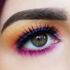 """23c7a1f31eb Kirby (@kyafanaro) on Instagram: """"New review/look is up on my channel -  diving into the @hudabeauty electric obsessions palette. Tell…"""""""