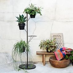 Prism Plant Stand #westelm