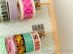 Portawashi + pizarra DIY - Handbox | Craft Lovers