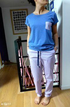 """m Gg++: Un peu de Couture """"Utile"""" : Un Pyjama..."""