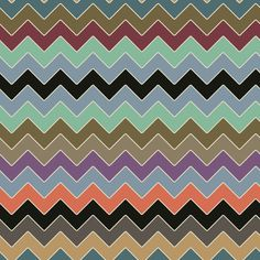 kissy kissy zig zag fabric by scrummy on Spoonflower - custom fabric  THESE are the colors i imagine for my bedroom!