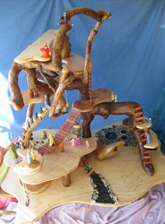 Grade 1 Parent/Child Project for Davis Waldorf School Auction - Gnome Home