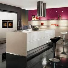 """New colours and premium brands for nobilia in Under the motto """"One Kitchen. One Solution."""" nobilia raises the bar with custom-made solutions that merge contemporary design and innovative solutions with the latest technology. Modern Kitchen Cabinets, Modern Kitchen Design, Interior Design Kitchen, Home Design, Kitchen Furniture, Kitchen Designs, Furniture Ideas, Island Kitchen, Interior Ideas"""