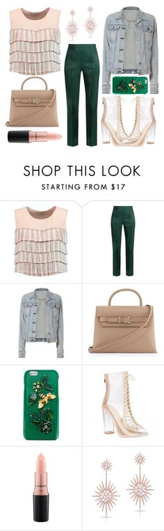 """""""Casual Second Date"""" by mexie ❤ liked on Polyvore featuring Alexis, Rosie Assoulin, rag & bone, Alexander Wang, Dolce&Gabbana, MAC Cosmetics and Anne Sisteron"""
