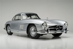 1955 MERCEDES-BENZ 300SL GULLWING COUPE - sold at Barrett-Jackson Auction for $2,090,000 January 2014.