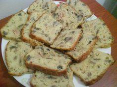 cake au thon champignon ciboulette