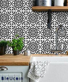 Moroccan Terracotta Tile/Wall/Stair/Floor Vinyl Decal/
