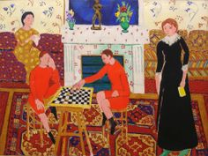 Henri Matisse | JUEGO DE DAMAS: HENRI MATISSE