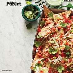 Take the snack we all know and love from just an appetizer to a full-on meal with this easy Supper Nachos recipe. Cooking Recipes, Healthy Recipes, Healthy Dishes, Vegetarian Recipes, Chatelaine Recipes, Veggie Chips, Dinner Recipes Easy Quick, Dinner Dishes, Snack