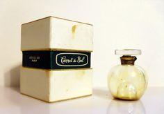 Vintage 1950s Carnet de Bal by Revillon 1/2 oz Parfum Perfume Bottle & Presentation Box