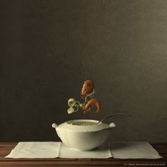 Soup of the day - food Marie Cecile Thijs