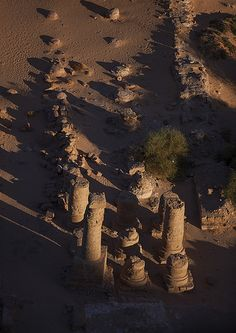 View From The Top Of The Jebel Barkal Of The Main Amun Temple, Karima, Sudan | por Eric Lafforgue