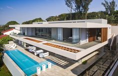 Salt Rock House Is A 530 M² Ft²) Modern Home Situated On Kwa Zulu Natalu0027s  North Coast Of South Africa. Metropole Architects Designed This Open Plan  House ...