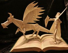 Book Sculpture!