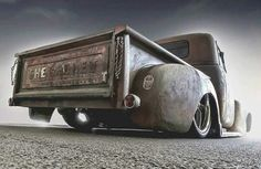 Old Trucks Wallpapers background pictures) Hot Rod Trucks, Mini Trucks, Gmc Trucks, Cool Trucks, Vintage Pickup Trucks, Classic Chevy Trucks, Custom Trucks, Custom Cars, Rat Look