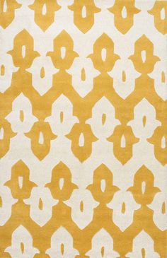 Nuloom MTVS43C-406 Galicha Collection Mustard Finish Hand Tufted Palazzo