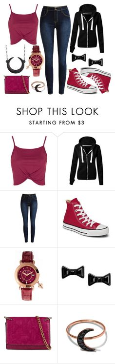 """""""If you're looking for love, Know that love don't live here anymore"""" by hayliemcullough ❤ liked on Polyvore featuring Topshop, Converse, Marc by Marc Jacobs, The Rogue + The Wolf, ALDO and Andrea Fohrman"""