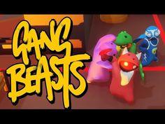 4 PLAYER MAYHEM! | Gang Beasts #6  Dlive