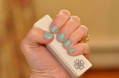 Teal mini polka in matte finish Jamberry  http://maryabigail.jamberrynails.net