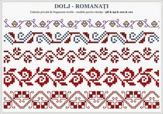 Motiv Embroidery Sampler, Folk Embroidery, Cross Stitch Embroidery, Embroidery Patterns, Cross Stitch Borders, Cross Stitching, Cross Stitch Patterns, Loom Patterns, Beading Patterns