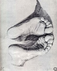 Image detail for -Durer feet Of A Kneeling Man « Albrecht Dürer « Artists « Art . Albrecht Durer, Life Drawing, Figure Drawing, Painting & Drawing, Amazing Drawings, Art Drawings, Renaissance, 3d Street Art, Pierre Auguste Renoir