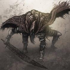 Slave Knight Gael by Eemeling.deviantart.com on @DeviantArt