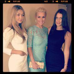 Gigi Hadid, Yolanda Foster & Bella Hadid