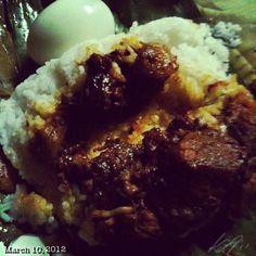 夕飯 #binalot #dinner #food #philippines