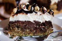 Norwegian Food, Pudding Desserts, Something Sweet, Let Them Eat Cake, Cake Cookies, Cake Recipes, Food And Drink, Sweets, Snacks