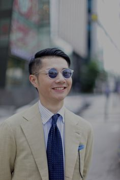 Zing Chen in David Marc Sunglasses and Viola Milano...