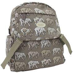 Olifant Rugsak/ Elephant backpack!
