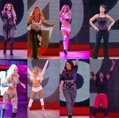 Trish Stratus, Beth Phoenix, Jacqueline, Kelly Kelly, Michelle McCool, Molly Holly, Torrie Wilson, Lita
