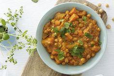 Vegetarcurry med potet