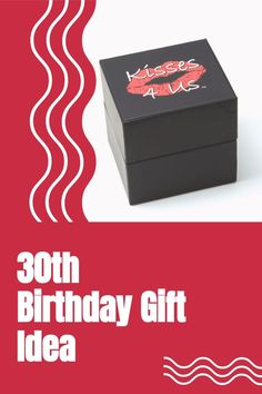 Celebrate a 30th Birthday with Kisses! Open the box and try each of the 30 Kiss Cards! Ships quickly so order today! Anniversary Ideas For Him, 50th Wedding Anniversary, Anniversary Gifts, Unique Gifts For Men, Gifts For Him, 30th Birthday Gifts, Birthday Ideas, Romantic Birthday, Things To Do At Home