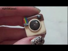 Polymer Clay Tutorial: How To Make An Instagram App/Logo Charm
