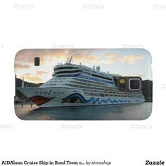 AIDAluna Cruise Ship in Road Town on Tortola Case For Galaxy S5 #sold on #zazzle