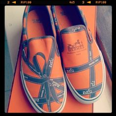 What?! Hermes Vans??!