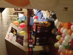 My son's 10th birthday morning surprise!!