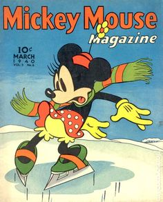 Mickey Mouse Magazine Vol. 5 #6 1940