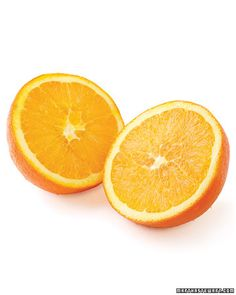 Oranges for dry skin