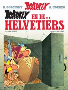 Asterix 16. De Helvetiers 1970