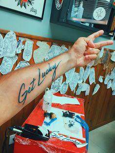 Get Lucky tattoo